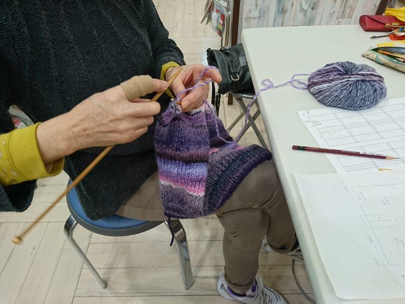手編みレッスン20161116