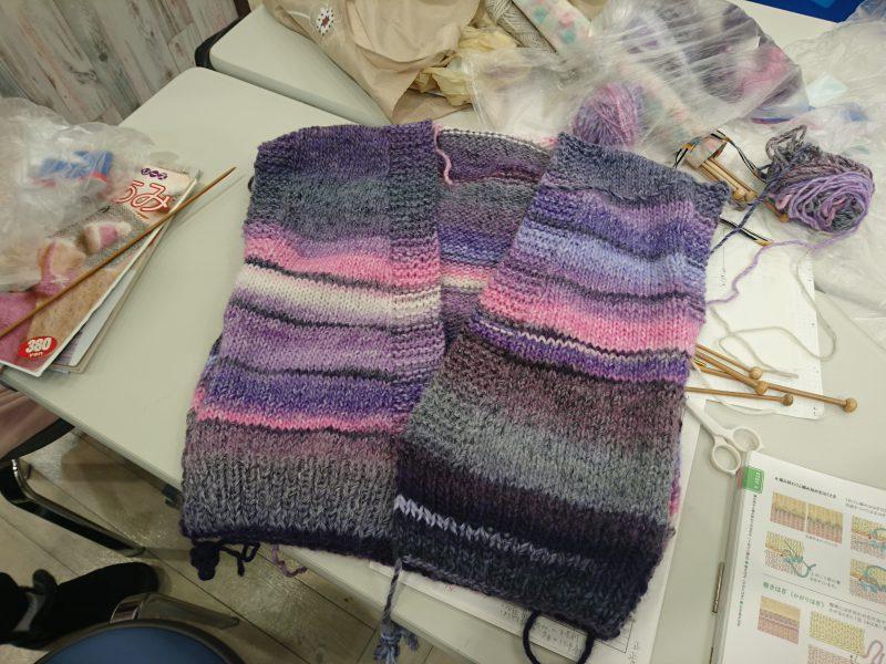 手編みレッスン20161214