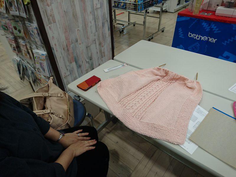 手編みレッスン20161217