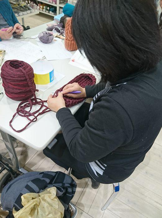 手編みレッスン20180210