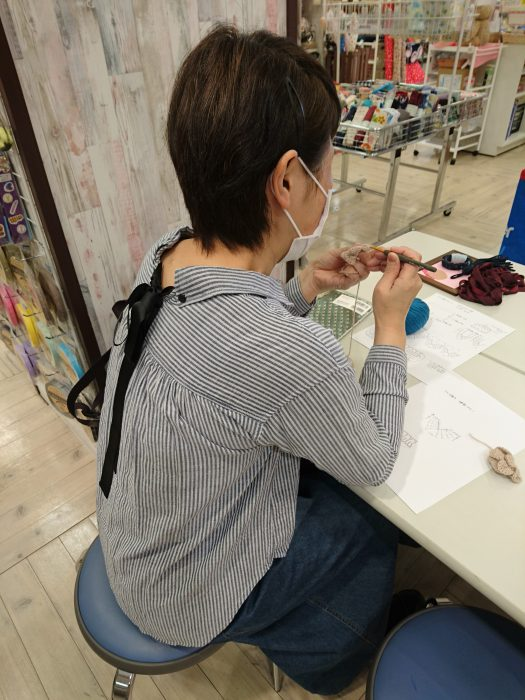 手編みレッスン20180314