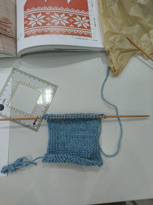 手編みレッスン20180324