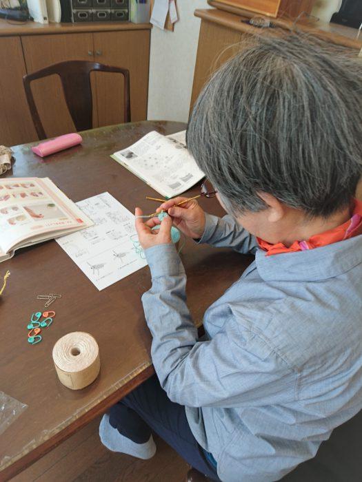 mimosaあみもの教室20180325