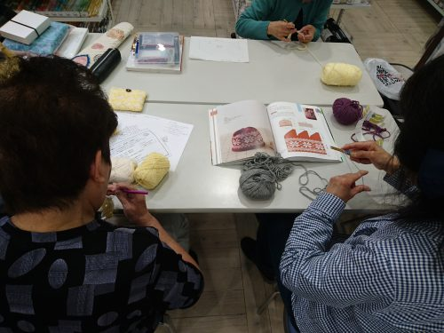 手編みレッスン20180421