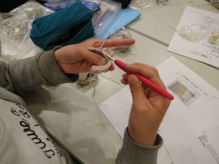 子どものための手編みレッスン20180421