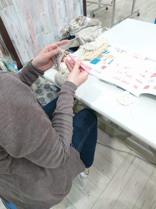 手編みレッスン20180509