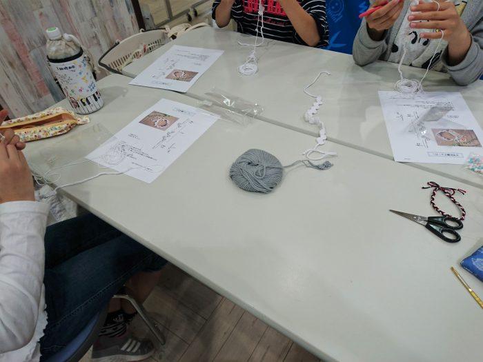 子どものための手編みレッスン20180616
