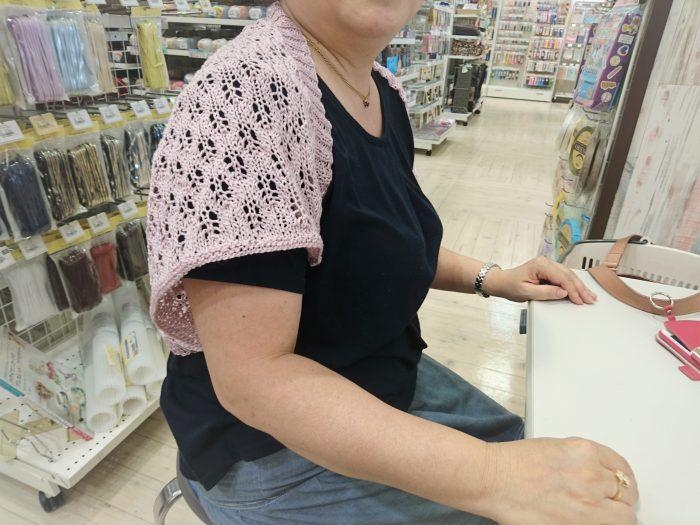 手編みレッスン20180711