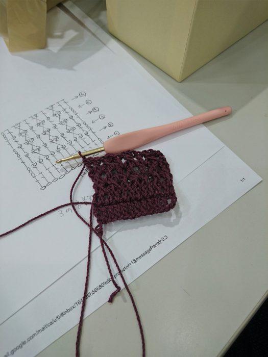 手編みレッスン20180804