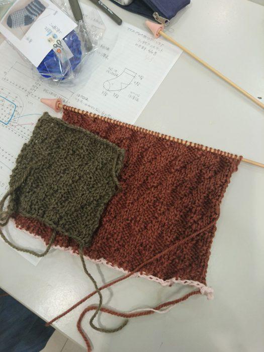 手編みレッスン20180905