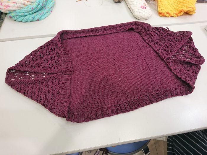 手編みレッスン20180915