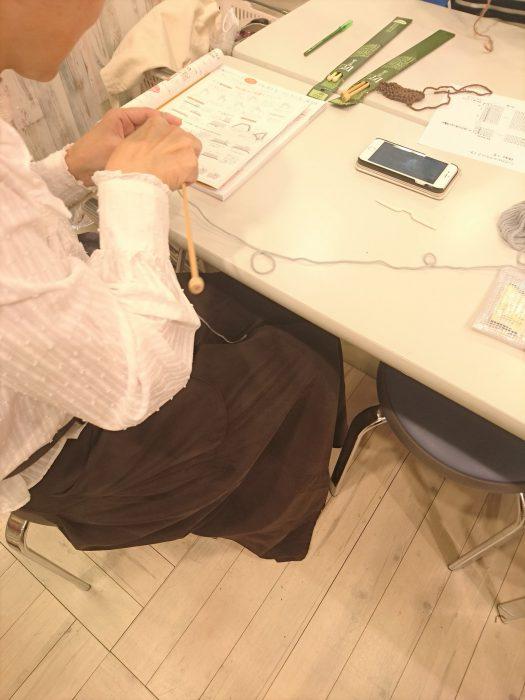 手編みレッスン20181017