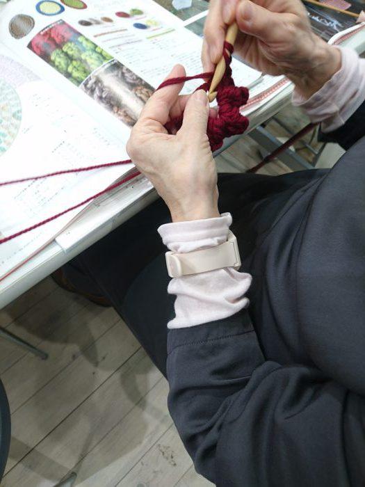 手編みレッスン20181027
