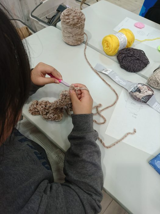 子どものための手編みレッスン20181124
