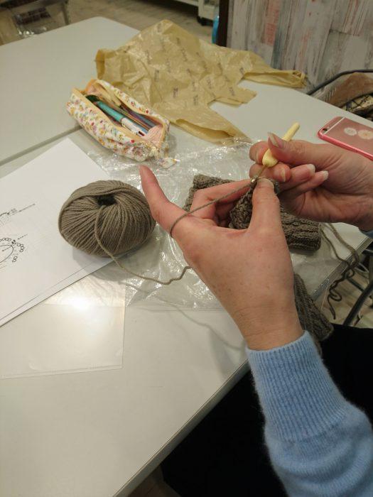 手編みレッスン20181205