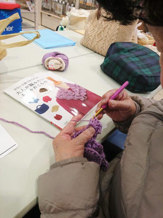 手編みレッスン20190119