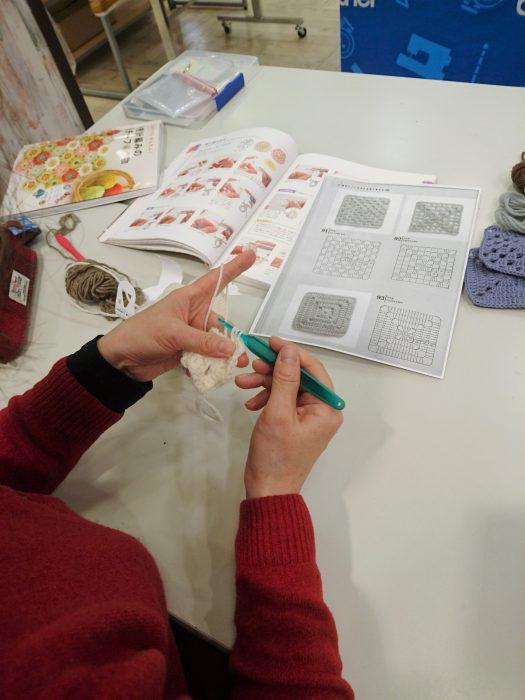 手編みレッスン20190123