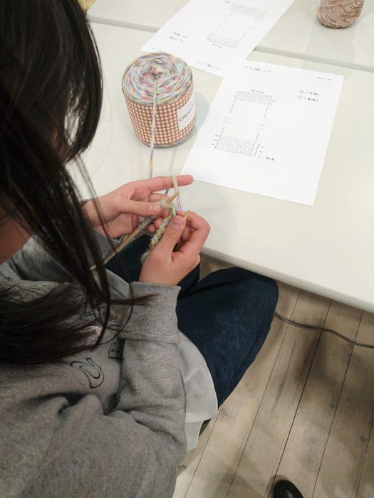 子どものための手編みレッスン20190126