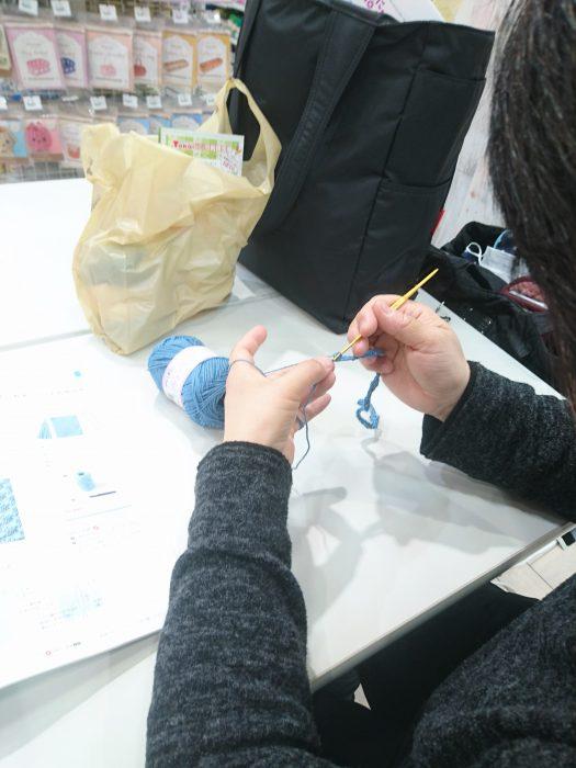 手編みレッスン20190323