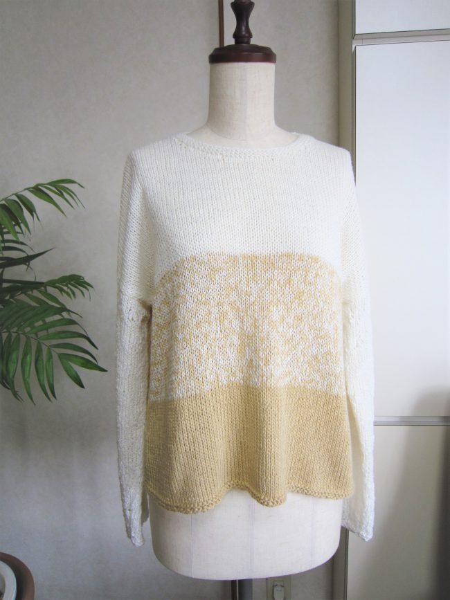 3色萌え袖セーター