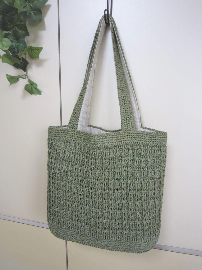 和紙糸バッグ