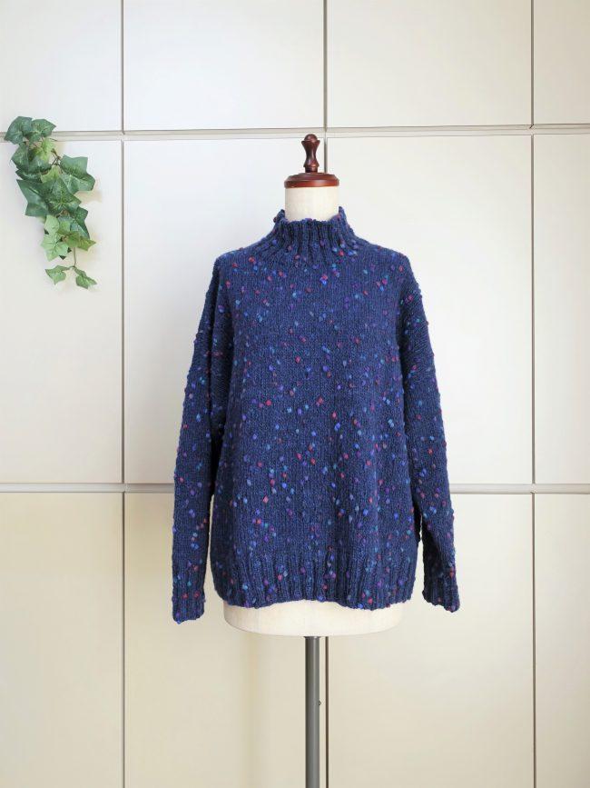 ゆったりセーター